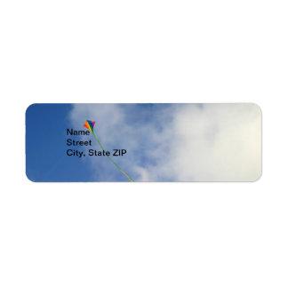 Kite Return Address Label