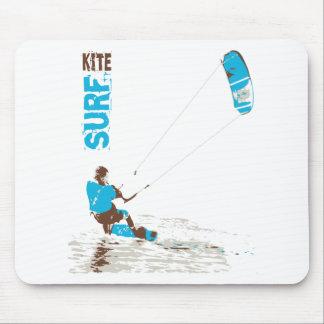 kite surf mouse mat