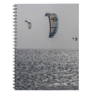Kite-surfers notebook