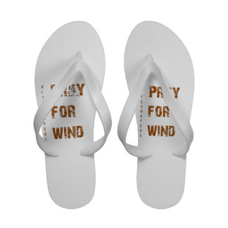 Kite Surfers Pray For Wind Flip Flops