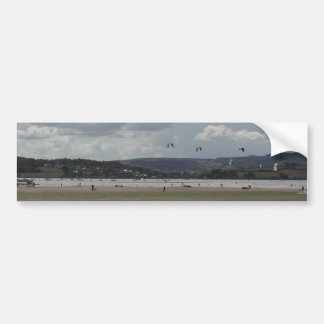 Kite Surfers. Scenic view. Bumper Sticker