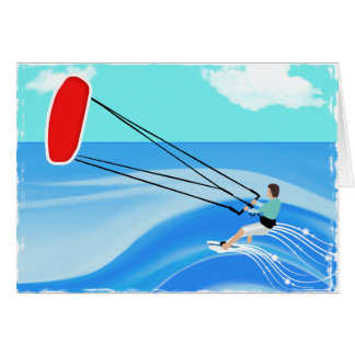 Kite Surfing Card