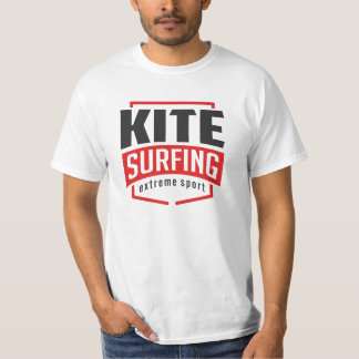 Kite Surfing Extreme Sport 2 White T-Shirt