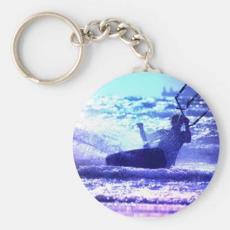 Kite Surfing Keychain