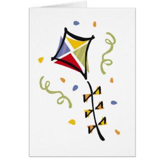 Kite Tshirts and Gifts Greeting Card