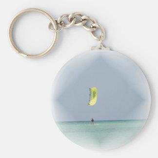 Kiteboarder Keychain
