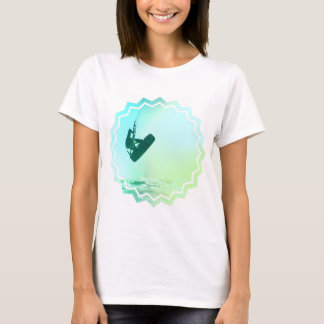 Kiteboarding Air Ladies Fitted T-Shirt