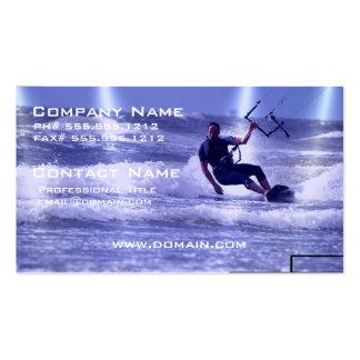 Kiteboarding Design Business Cards