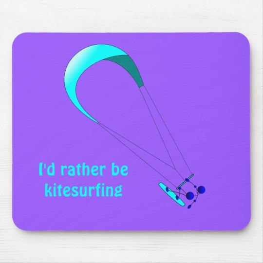 Kiteboarding Kitesurfing Gifts Mouse Mat