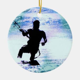 Kiteboarding Ornament