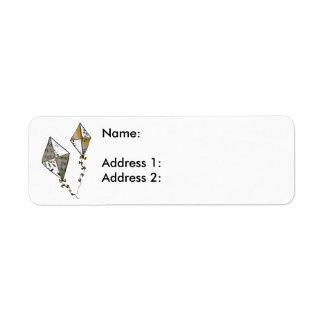 Kites Return Address Label
