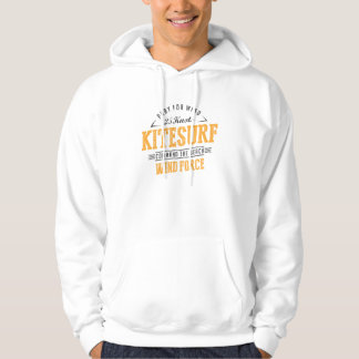 Kitesurf Command The Beach Extreme Sport Hoodie
