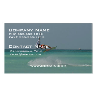 Kitesurfer Air Double-Sided Standard Business Cards (Pack Of 100)