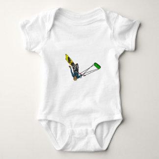 kitesurfer baby bodysuit