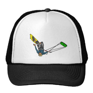 kitesurfer trucker hat