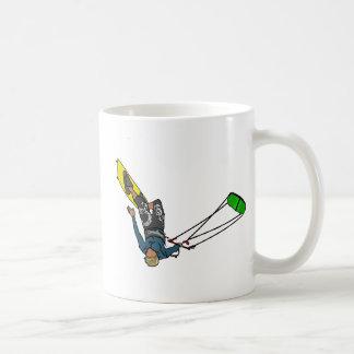 kitesurfer coffee mug