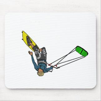 kitesurfer mouse mat
