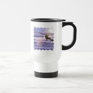 Kitesurfer Plastic Travel Mug