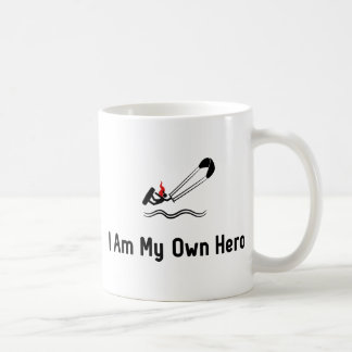 Kitesurfing Hero Basic White Mug
