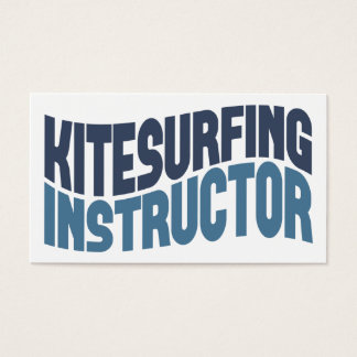 Kitesurfing Instructor Business Cards