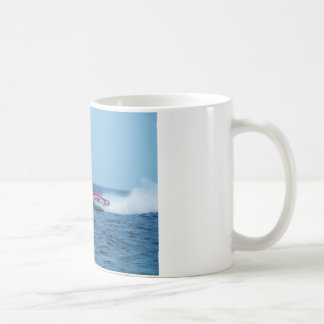 Kiton offshore powerboat. coffee mug