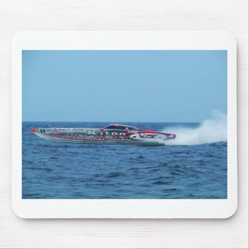 Kiton offshore powerboat. mouse mat