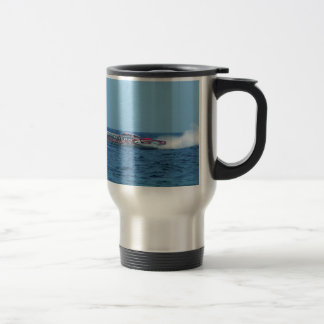 Kiton offshore powerboat. travel mug