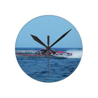 Kiton offshore powerboat. wallclock