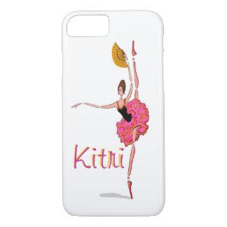 Kitri ballerina dancing ballet Don Q iPhone Cover