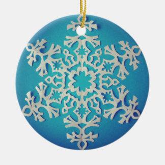 Kit's Snowflake Christmas Ornament
