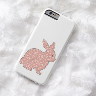 Kitsch Retro Bunny Rabbit iPhone 6 Case Barely There iPhone 6 Case
