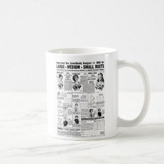 Kitsch Vintage Ad Mail Order Bras Mug
