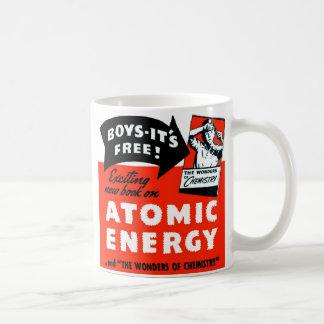 Kitsch Vintage Atomic Energy For Kids! Coffee Mug