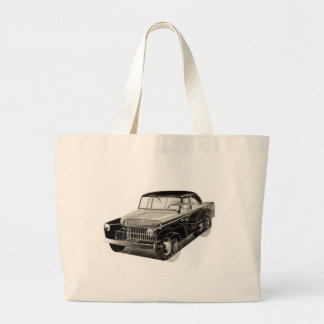 Kitsch Vintage Auto 'The Victory Car' Jumbo Tote Bag