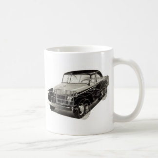 Kitsch Vintage Auto 'The Victory Car' Coffee Mugs
