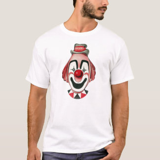 Kitsch Vintage Clown Face, Mask T-Shirt