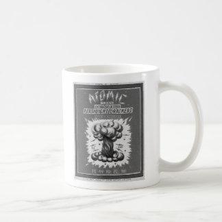 Kitsch Vintage Firecracker Label Atomic Brand Coffee Mugs
