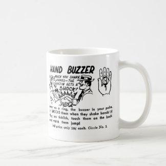 Kitsch Vintage Gag Magic Trick Hand Buzzer Mugs
