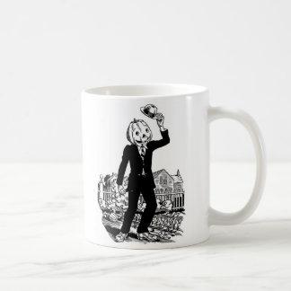 Kitsch Vintage Halloween 'Mr. Pumpkinhead' Coffee Mug