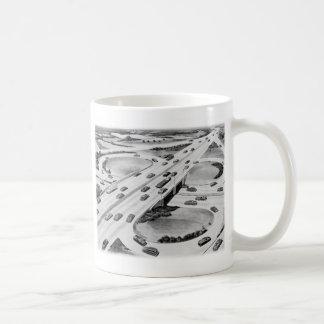 Kitsch Vintage Interstate Cloverleaf Mug