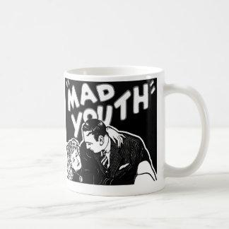 Kitsch Vintage Jazz Mad Youth Coffee Mug