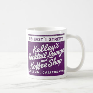Kitsch Vintage Kelly s Kocktail Lounge Koffee Mugs