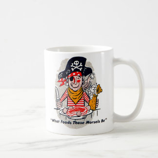 Kitsch Vintage Matchbook Hungry Pirate Mugs
