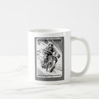 Kitsch Vintage Matchbook Solo Motorcycle Coffee Mug