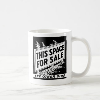 Kitsch Vintage Matchbook This Space For Sale Coffee Mugs