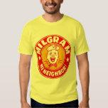 Kitsch Vintage Milgram Supermarket Grocery Shirt