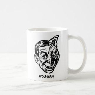 Kitsch Vintage Monster Wolfman Mug
