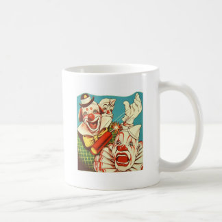 Kitsch Vintage Never Trust a Clown Classic White Coffee Mug