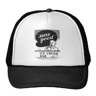 Kitsch Vintage Sure Good Ice Cream Bar Mesh Hats