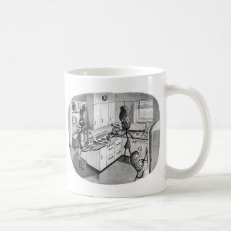 Kitsch Vintage The Modern Peanut Family Mugs